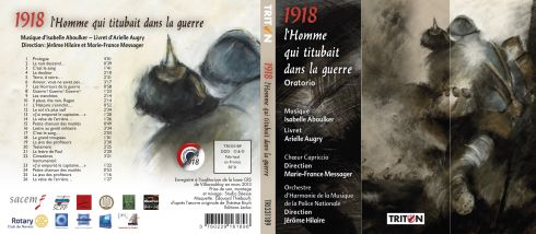 book-Couverture CD. Oratorio d Isabelle Aboulker: